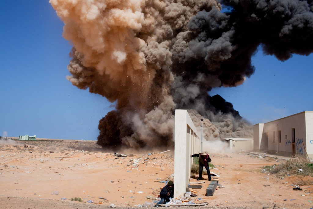 Libyan Rebels Continue to Fight for Ras Lanuf